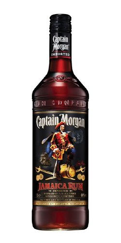Captain Morgan Jamaica black  0.7l