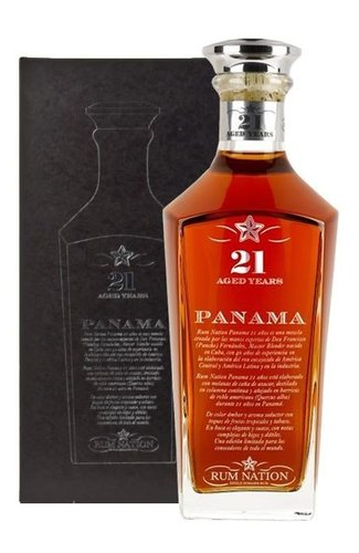 Rum Nation Panama 21y  0.7l