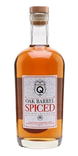 Don Q Oak aged Spiced  0.7l