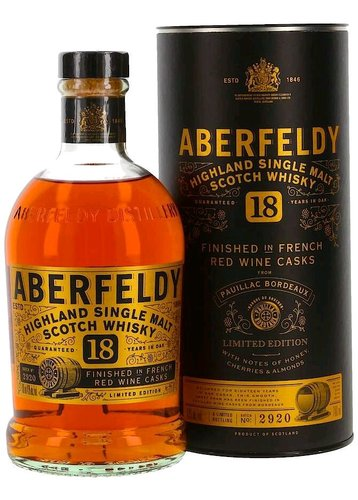 Aberfeldy 18y French wine cask  0.7l