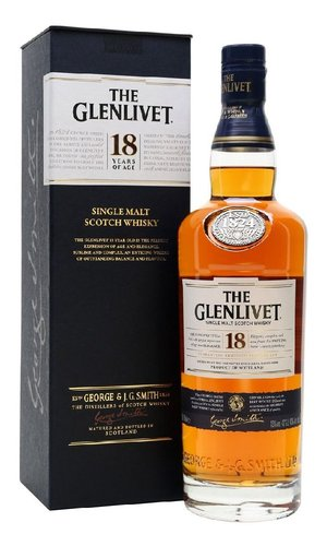 the Glenlivet 18y  0.7l