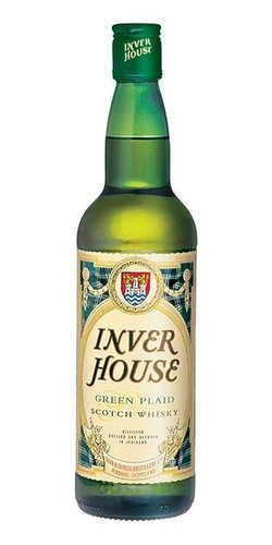 Inver House Green Plaid  0.7l