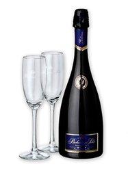 Bohemia Prestige se 2 skleničkama  0.7l