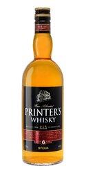 Printers whisky 6y  0.7l