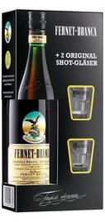 Fernet Branca Original se skleničkama  0.7l