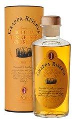 Grappa Riserva Tennessee whisky barrels Sibona  0.5l