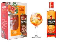 Beefeater Blood Orange se skleničkou  0.7l
