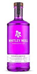 Whitley Neill Rhubarb & Ginger gin miniaturka  0.05l