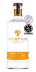 Whitley Neill Blood Orange gin miniaturka  0.05l