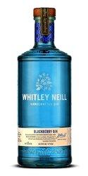 Whitley Neill Blackberry gin miniaturka  0.05l