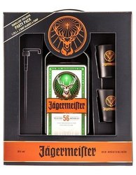 Jagermeister Party set s pumpičkou  1.75l
