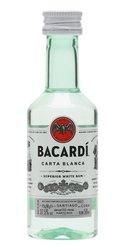 Bacardi Carta blanca miniaturka  0.05l