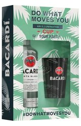 Bacardi Carta blanca s pohárkem  0.7l