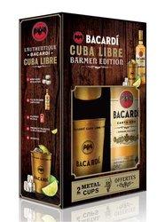 Bacardi Gold s hrnečky  0.7l