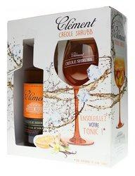 Clément Créole Shrubb Orange dárková kazeta  0.7l