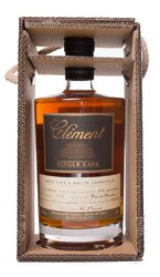 Clément Single Cask Black 2004 Canne bleue  0.5l