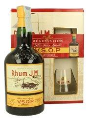 Rhum J.M Vsop se skleničkama  0.7l