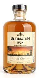 Ultimatum 1999 Secret distillery Nicaragua 18y  0.7l
