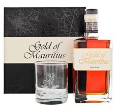 Gold of Mauritius Dark dárková kazeta  0.7l