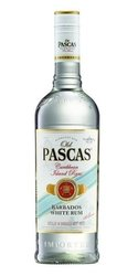 Old Pascas White Barbados  0.7l