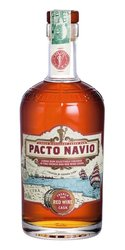 Havana club Pacto Navio French oak Red wine cask  0.7l