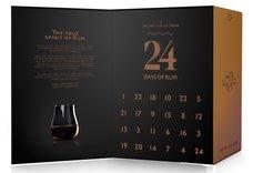 Adventní kalendář s kolekcí prémiových rumů  24x0.02l