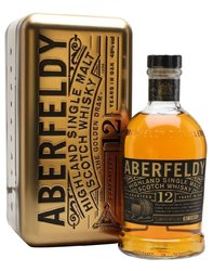 Aberfeldy Gold 12y v dárkovém plechu  1l