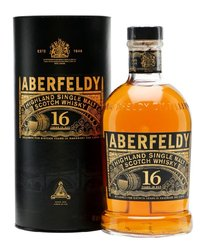 Aberfeldy 16y ltd.  0.7l