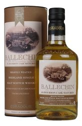Ballechin no.6 Bourbon cask finish  0.7l