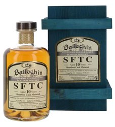 Ballechin SFTC 2010 Bourbon cask 10y  0.5l