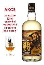 Big Peat se skleničkou  0.7l