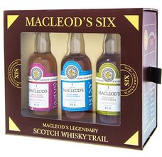 Macleods Six dárková sada  6x0.05l