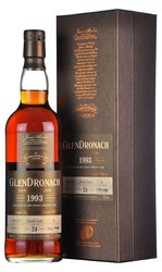 the GlenDronach 1993 Single cask 24y  0.7l