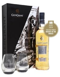 Glen Grant Rare Edition 18y se skleničkama  0.7l