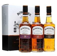 Bowmore 12+15+18  3x0.2l