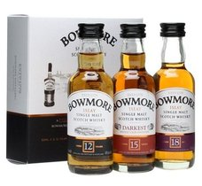 Bowmore 12+15+18y  3x0.05l