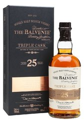the Balvenie 25y Triple cask  0.7l