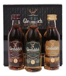 Glenfiddich Cask collection  3x0.05l