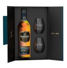 Glenfiddich 15y se dvěma skleničkama  0.7l