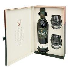 Glenfiddich 12y se dvěma skleničkama  0.7l