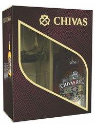 Chivas Regal 12y se skleničkama ed.12  0.7l