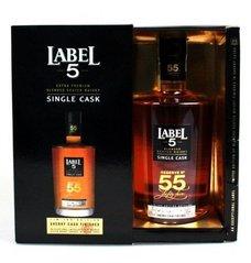 Label 5 single cask no.55  0.7l