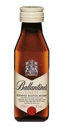 Ballantines finest miniaturka  0.05l