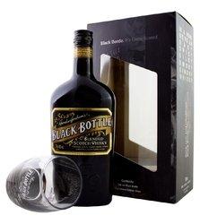 Black Bottle se skleničkou  0.7l