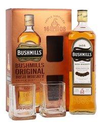 Bushmills dárková kazeta  1l