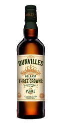 Dunvilles Three Crowns Peated  0.7l