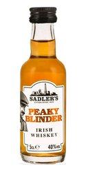 Peaky Blinder Irish whiskey miniaturka  0.05l