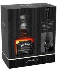 Jack Daniels Single Barrel se skleničkou 2019  0.7l