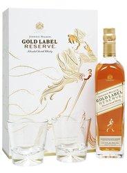 Johnnie Walker Gold reserve se skleničkama  0.7l