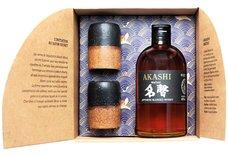 Akashi Meisei dárkové balení s keramickými pohárky  0.5l